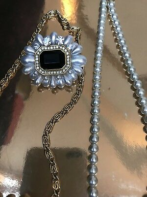 Small Job Lot of Pearly Costume Jewellery - Boot sale, fundraisers, etc.