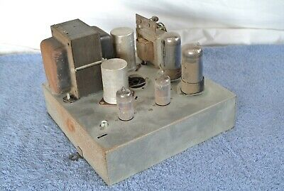 Vacuum Tube Mono Block Power Amplifier Made by Sears in the 50s or 60s for HiFi
