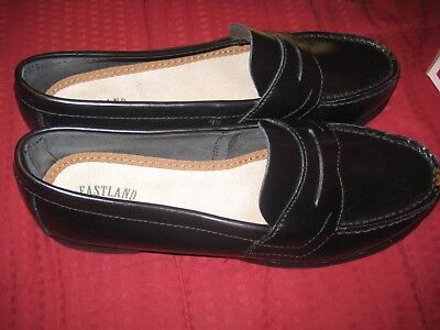 ee0ebb27376 WOMENS EASTLAND CLASSIC II Penny Loafer Shoes Black Size 7.5  3921M ...