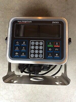 AVERY WEIGH TRONIX ZM303-SD1 / ZM303SD1 Scale Digital Indicator Demo Unit