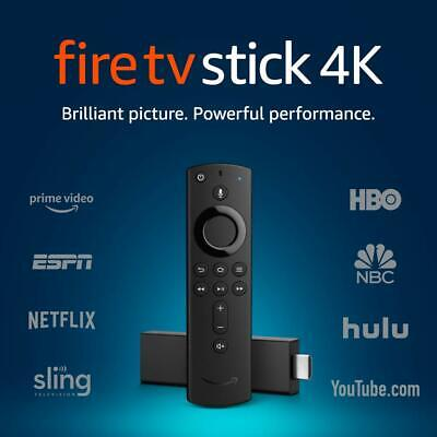 Brand🇱🇷 New  Fire TV Stick 4K with Alexa Voice Remote Streaming Media Player