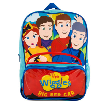 The Wiggles Big Red Car 37cm Backpack