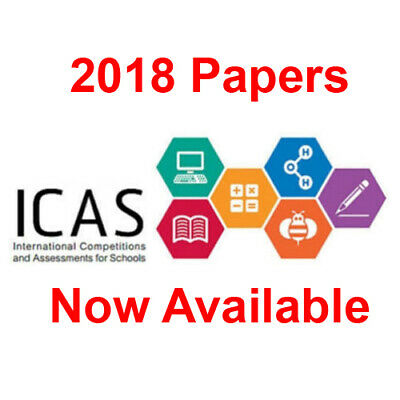 ICAS past papers, year 2, 3, 4, 5, 6, 7, 8, 9, 10, ANY 10 PAPERS for $5.00 (pdf)