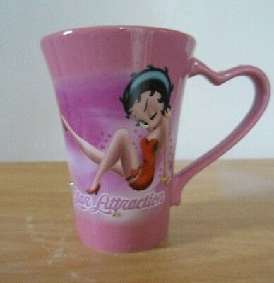 Betty Boop Universal Studios Mug Cup 2009 Pink Crystals King Features Syndicate