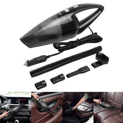 Portable 12V 120W Home Car Vehicle Handheld Auto Vacuum Dirt Cleaner Wet & Dry