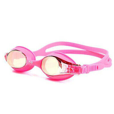 TYR Swimple Kids Mirrored Swimming Goggles Pink