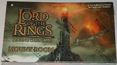 Lord of the Rings TCG, Mount Doom Booster Box 36-Pack FACTORY SEALED