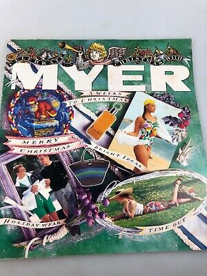 Vintage Myer Catalogue - Possibly Late 1980'S - Christmas - Gifts Fashion +++