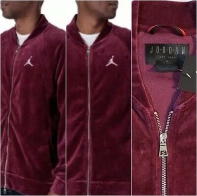 43a7c9c283751f NIKE AIR JORDAN Windbreaker Jacket Bordeaux 12 Purple Black Wings ...