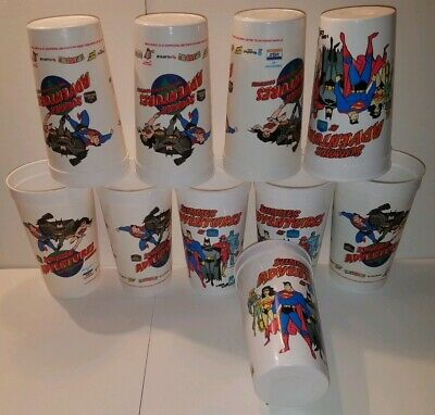 Best Western Super Heroes Summer Adventures Cup (Lot of 10)