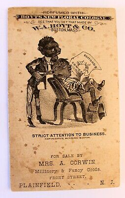 1890s Hoyt & Co Perfume Advertising Card