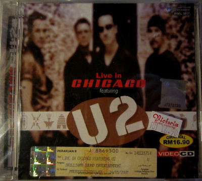 U2: Live at Chicago - VIDEO CD [RARE Asian edition]