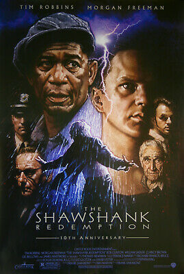 Shawshank Redemption Movie Art Silk Poster 12x18 24x36
