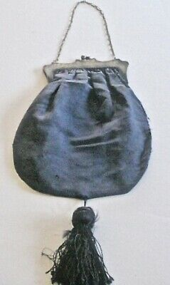 Antique Edwardian Purse with German Silver Frame