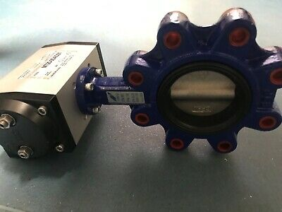 MAX-AIR actuator with ALBION Butterfly Valve PN16 EN-GJS 400-15 DN80