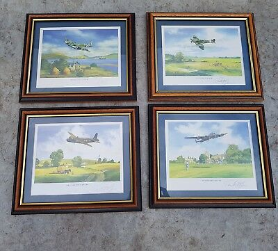 Limited edition set of prints Spitfire Wellington etc Bomber by Timothy O'Brien