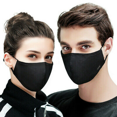 Washable Cotton Anti dust Mouth Mask Fashion Respirator Half Face Breathable