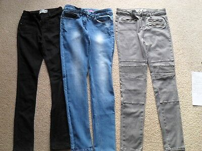 Girls Jeans - 3 pairs AGE 12