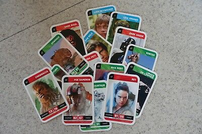 Cartes STAR WARS au choix - SOLO A STAR WARS STORY - Leclerc 2018