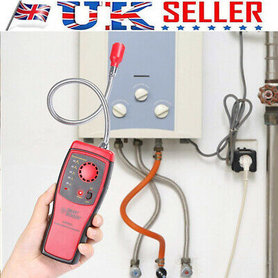 Combustible Gas Detector Methane natural Gas Leak Analyzer Tester Alarm EC UK