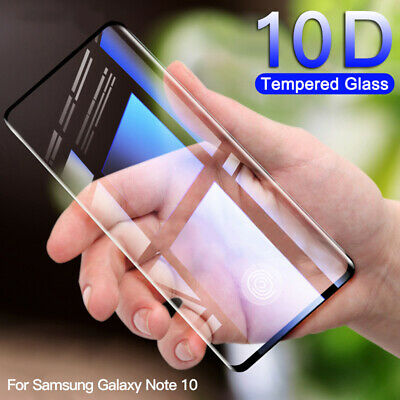 For Samsung Galaxy S10e S10 Plus Tempered Glass Screen Protector Film Full Cover