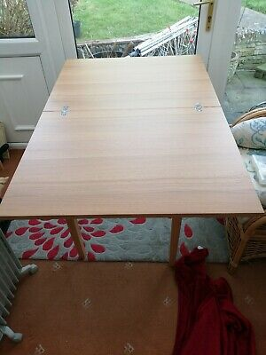 Flip top Wooden dining table & 4 Chairs