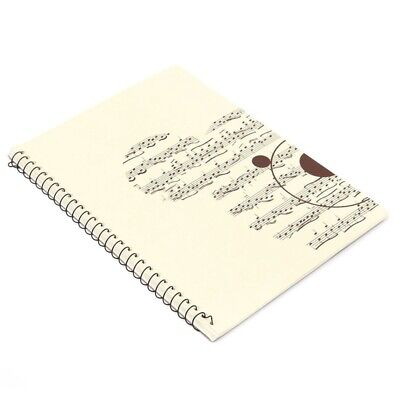 50 Pages small Bear Musical Sheet Manuscript Paper Stave Notation Notebook C9C9