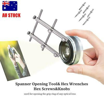 PRO Spanner Wrench Tool Open Repair Replacement 10-100mm For DSLR Camera Lens AU