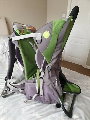 Child/toddler Little Tikes Back Carrier with raincover included