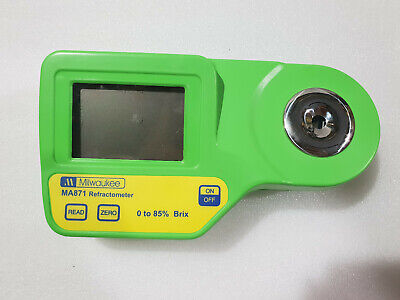 Milkwaukee digital refractometer dual level lcd fast caliberation lab equipment