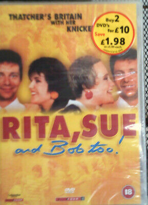 Rita, Sue And Bob Too Dvd New And Sealed