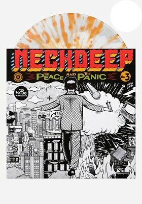 Neck Deep - The Peace And The Panic // Vinyl LP limited to 500 on White In Clear