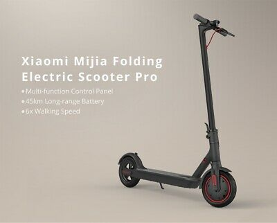 EU/UK Delivery by Air/Rail Xiaomi M365 Pro Black Electric Scooter UK Seller