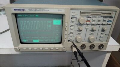 Tektronix oscilloscopio digitale TDS 420A  200 MHz