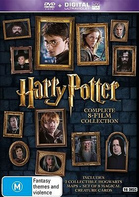 Harry Potter COMPLETE 8 Movies Collection : YEARS 1 - 7 : NEW DVD
