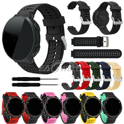 For Garmin Forerunner 220 230 235 620 630 735XT Silicone Wrist Watch Band Strap