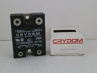 Crydom Solid-State Relay  H12Wd4825-6179  *New In Box*