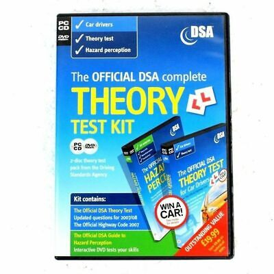The Official DSA Complete Theory Test Kit for Car Drivers 2007/08