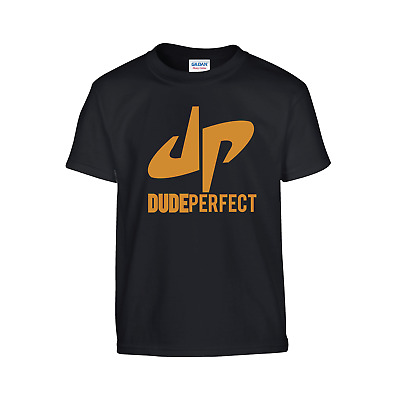 DUDE PERFECT Group DP Youtuber Tshirt Tee Top Colours Many CHILDRENS T-shirt