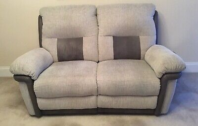 Pleasant Dfs Tetris 2 Seater Reclining Sofa And Chair 300 00 Caraccident5 Cool Chair Designs And Ideas Caraccident5Info