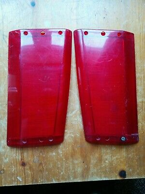 Range Rover Classic Pair of Rear Side Lenses, Left and Right.
