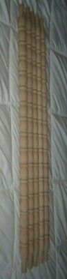 """Lot of 10=NEW UNFINISHED ARCHITECTURAL Wood Turned SPINDLES 27 3/8"""" Balusters"""