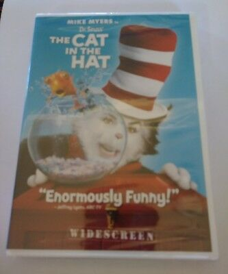 Dr. Seuss The Cat in the Hat (DVD, 2004, Widescreen Edition):Sealed: Brand New