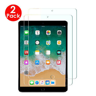 """2X Pack For Apple Ipad Air 2019 (10.5"""") Tempered Glass Film Screen Protector"""