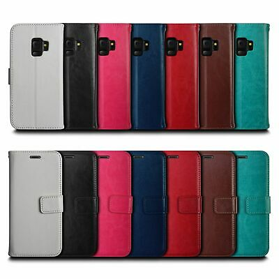 New Wallet Flip PU Leather Case Cover Phone For Samsung Galaxy S8 9 Plus Note8 9