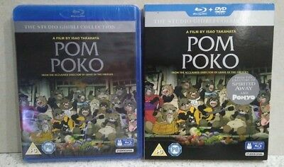 Pom Poko (Blu-Ray& DVD, 2006, Animated) Brand New Unopened