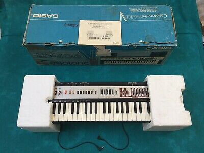 Retro Boxed Casiotone MT-400V Electronic Keyboard With Speakers