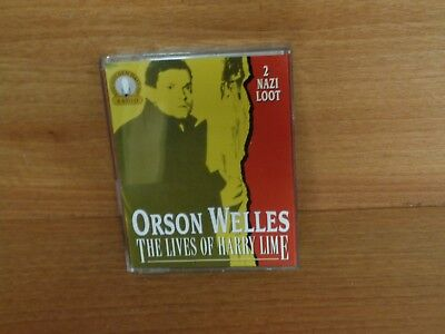 Orson Welles : The Lives Of Harry Lime : 2 Cassette Set : Classic Radio : Hh 121