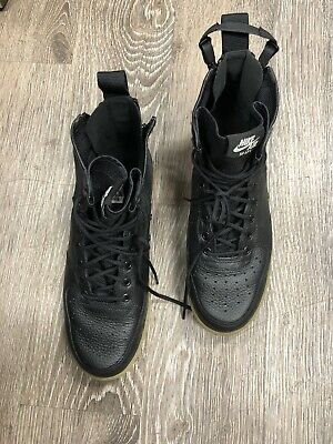 Nike SF Air Force 1 Mid Urban Utility Size 10,5 Goddess Of Victory (Black)
