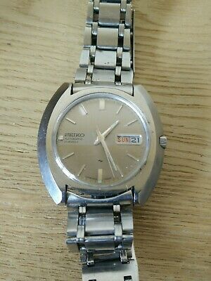 Rare Vintage Seiko 7006-7020 21 Jewels Automatic Day/date